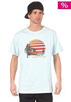 LIGHT Sunset S/S T-Shirt aqua