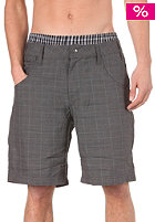 LIGHT Temple Walkshort check dark grey