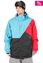 LIGHT Tinker Jacket Black/Electric Blue/Red