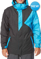 LIGHT Tinker Jacket black electric blue