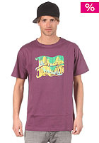 LIGHT Wizard S/S T-Shirt plum