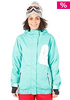 LIGHT Womens Bebop Snow Jacket Billiard/White