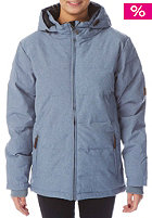 LIGHT Womens Celsius Snow Jacket blue heather