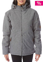 LIGHT Womens Celsius Snow Jacket grey heather