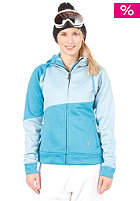 LIGHT Womens Charm Fleece Snow Jacket Light Blue/Electric Blue