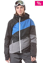 LIGHT Womens Coil Jacket black imperial blue grey