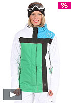 LIGHT Womens Crusader Jacket 2011 kelly green/white/electric blue/black