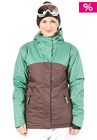 LIGHT Womens Crusader Snow Jacket Brown/Amazon