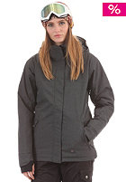 LIGHT Womens Crusader Snow Jacket dark grey heather