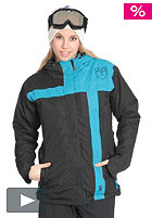 LIGHT Womens Crusader Snow Jacket electric blue/black