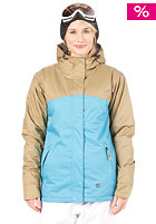 LIGHT Womens Crusader Snow Jacket Electric Blue/Bronze