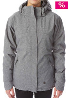 LIGHT Womens Crusader Snow Jacket grey heather