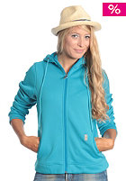 LIGHT Womens Cute Hooded Zip Sweat electric blue