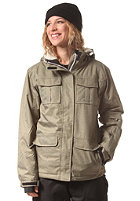 LIGHT Womens Dawn Jacket 2 tone olive