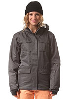 LIGHT Womens Dawn Jacket dark grey heather