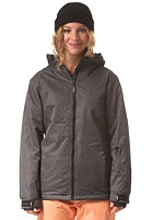 LIGHT Womens Ease Jacket dark grey heather