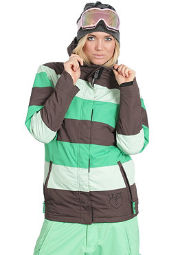 LIGHT Womens Flag Jacket 2011 kelly green/lime/brown