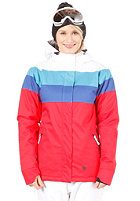 LIGHT Womens Flag Jacket Red/White/E. Blue/D. Blue