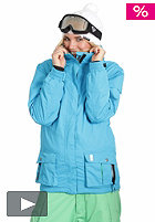 LIGHT Womens Flood Snow Jacket 2012 electric blue