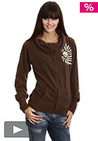 LIGHT Womens Hart Zip Fleece 2010 brown
