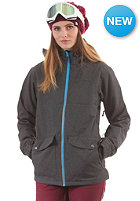 LIGHT Womens June Jacket dark grey heather
