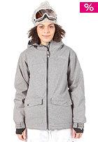 LIGHT Womens June Snow Jacket Grey Heather