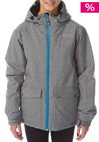LIGHT Womens June Snow Jacket grey heather