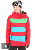LIGHT Womens Mia Jacket 2012 red/electric blue/kelly green
