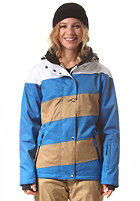 LIGHT Womens Mia Jacket imperial blue/bronze/white