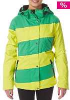 LIGHT Womens Mia Snow Jacket sulphur kelly green
