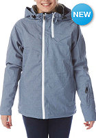 LIGHT Womens Pearl Jacket blue heather