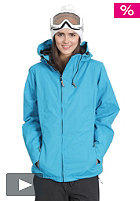 LIGHT Womens Pearl Jacket electric blue