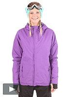 LIGHT Womens Pearl Snow Jacket purple