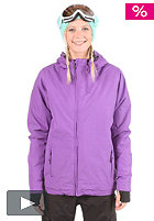 LIGHT Womens Pearl Snow Jacket purple