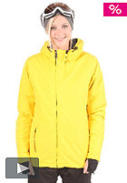 LIGHT Womens Pearl Snow Jacket yellow