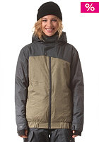 LIGHT Womens Ryder Jacket anthra/olive