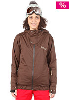 LIGHT Womens Ryder Snow Jacket Brown