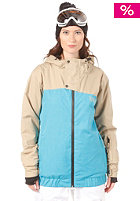LIGHT Womens Ryder Snow Jacket Electric Blue/Sponge