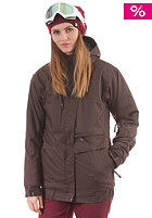 LIGHT Womens Sara Snow Jacket brown
