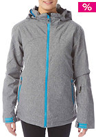 LIGHT Womens Squad Snow Jacket grey heather