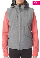 LIGHT Womens Sugar Snow Jacket grey heather