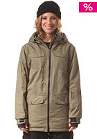 LIGHT Womens Torpedo Jacket 2 tone olive
