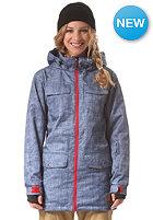 LIGHT Womens Torpedo Jacket blue denim