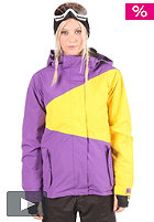 LIGHT Womens Zelda Jacket 2012 purple/yellow