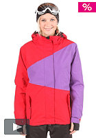 LIGHT Womens Zelda Jacket red/purple