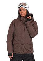 Womens Zelda Snow Jacket brown