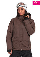 LIGHT Womens Zelda Snow Jacket brown