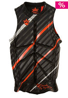 LIQUID FORCE Cardigan Impact Vest 2012 silver/orange