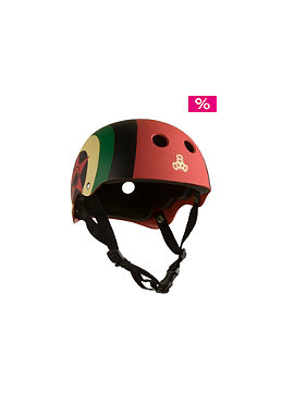 LIQUID FORCE Flash Earflap Wake Helmet 2012 rasta