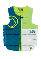 LIQUID FORCE Flex Comp 2015 Impact Vest blu-grn